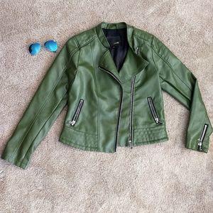 Soho babe leather bike jacket